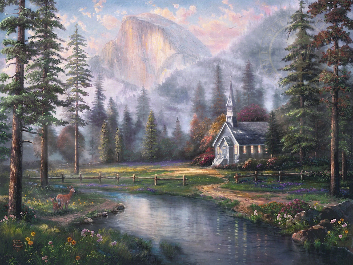 The Thomas Kinkade Company Announces The Release Of