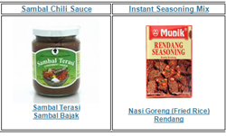 Indonesian Food Store IndoFoodStore com Expands Sambal, Indonesian