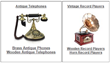 WorldToHome.com Expands Antique Telephones, Vintage Record Players,...
