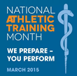 National Athletic Training Month - March