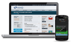 New AIMG.com Client Center with 24/7 Access to Information & Results 1-888-291-0037
