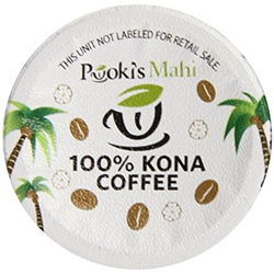 Design Pooki's Mahi's 100% Kona coffee pods @ http://subscriptions.pookismahi.com/products/100-kona-coffee-pods for private label brands.
