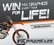 MotoFXGraphics Launches New Interactive Website And A Contest With Online Powersports Hub ThumperTalk.com