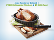 Delicious Dinner Deal: Rotisserie Chicken and $5 Gift Card for...
