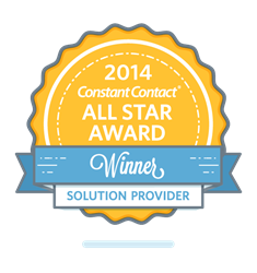 Twin Creek Media Constant Contact All Stars Award 2014