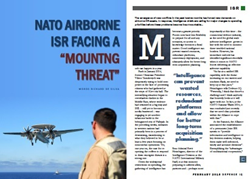 "NATO ISR facing a ""mounting threat"""