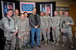 Vince Vaughn Treats Troops at Edwards Air Force Base to Advance USO...