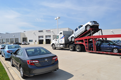 Auto transport at auctions
