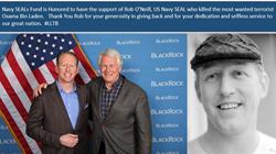 rob o neill donate navy SEALs fund
