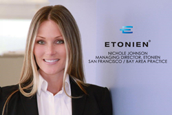 ETONIEN Announces New Managing Director of San Francisco/Bay Area Practice