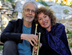 Herb Alpert and Lani Hall sitting by Gerry Wersh