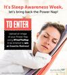 Essentia Celebrates the Power Nap During National Sleep Awareness...