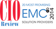 "IDS Named to ""20 Most Promising EMC Solution Providers"" List by CIO Review"
