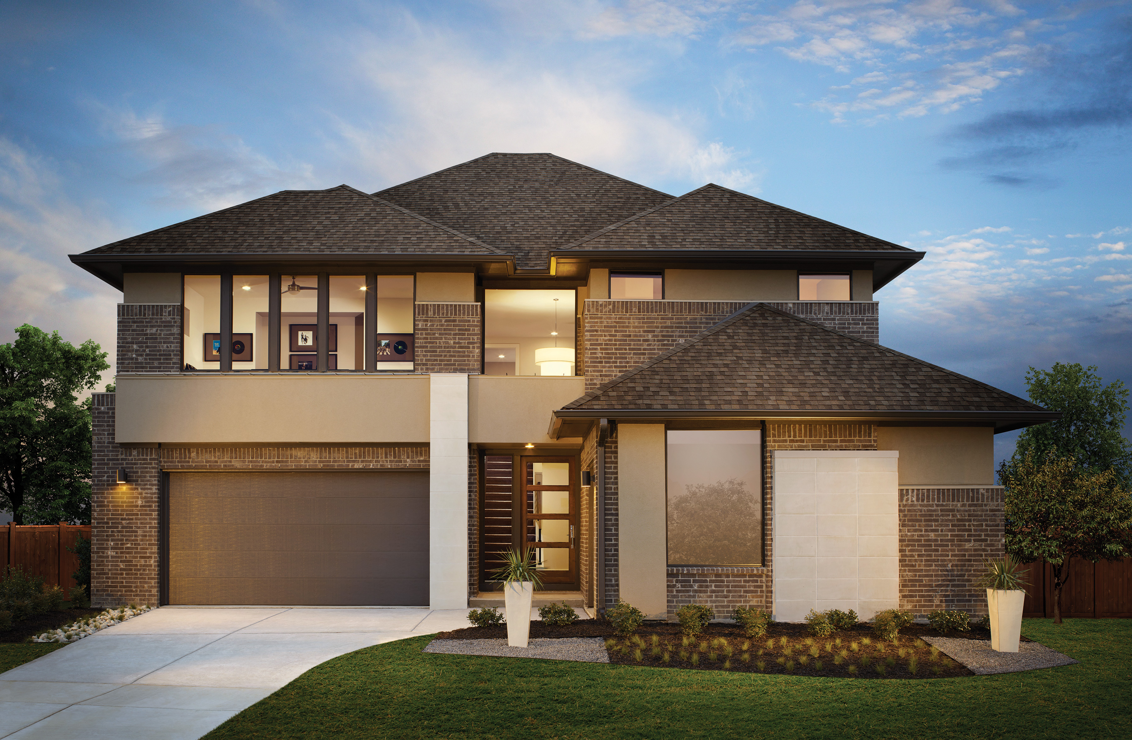 Mainvue Homes Brings Modern Style Feature Rich Homes To