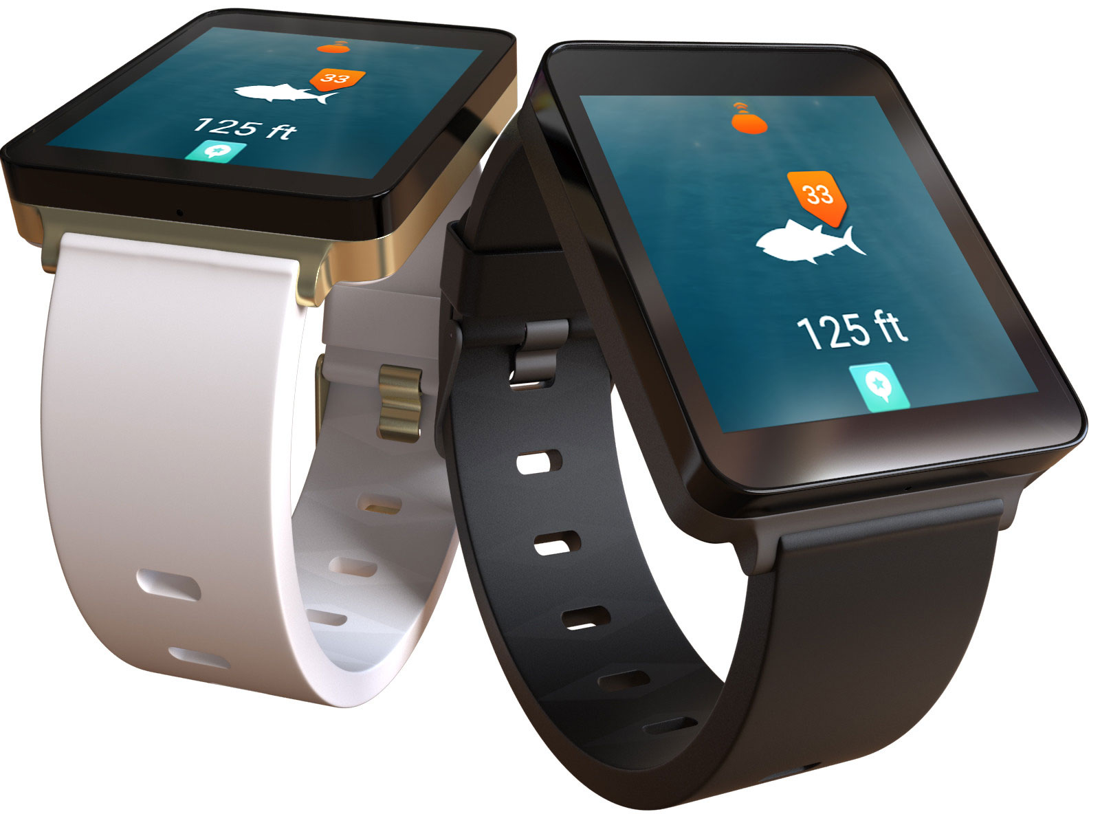 Introducing the ibobber smartwatch fishfinder app the for Fish finder apps