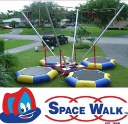 Photo of bungee trampoline Space Walk of Middle Tennessee