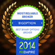 Finance website FX Empire awards BigOption the Most Reliable Binary...