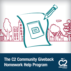 C2 Education offers free homework help