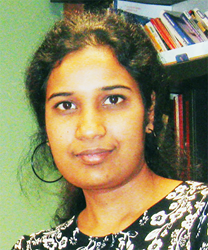 Nagarekha Pasupuleti, lead author of the study