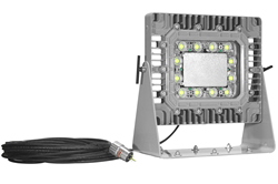 150 Watt LED Explosion Proof Light Fixture Equipped with 100' Cord