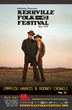 Emmylou Harris and Rodney Crowell on May 23rd at the 2015 Kerrville...