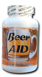 Beer AID bottle