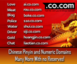 Chinese Pinyin and Number Domain Names Offered at No Reserve on...