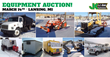 Public Car and Equipment Auction, Lansing, MI, March 14, 2015