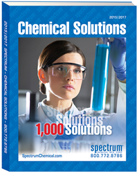 Spectrum 2015-2017 Chemical Solutions Catalog