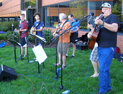 The Flower Hill String Band at the 2014 Face of America ride in Frederick, Maryland.