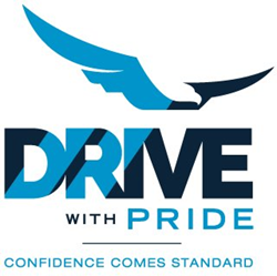 Drive With Pride Logo