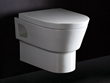 Round Modern Wall Mount Dual Flush Toilet WD332 from Eago