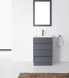 HomeThangs.com Has Introduced A Guide To Gray Bathroom Vanities For...