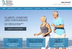 Hearing Health Solutions Website