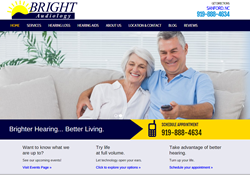 Bright Audiology Website