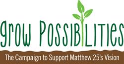 Mathew 25  Cedar Rapids Campaign logo