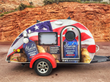 Blue Ice Vodka and Little Guy Worldwide Launch 2015 Marketing Campaign & Teardrop Trailer Giveaway.
