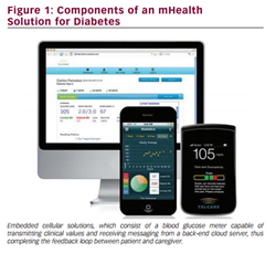 Components of an mHealth Solution for Diabetes