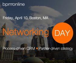 bpm'online Boston networking day