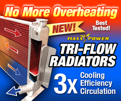 Maxx Power Tri-Flow Radiator