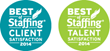 "AtWork Named to 2015 ""Best of Staffing"" Client and Talent Lists"