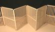 folding dog gate