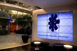 "The World's First Autostereoscopic Video Wall Featuring Twelve 46"" Empreza™ Super Narrow Bezel 3D Displays"