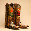 Tres Outlaws Boot Co. cowboy boots offer a great example of one of the many artisan-crafted fashion items presented annually at the Western Design Conference in Jackson, Wyo.