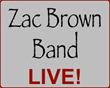 Zac Brown Band Tour Tickets