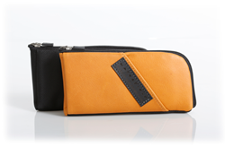 Time Travel Apple Watch Case—camel leather and ballistic nylon options