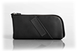 Time Travel Apple Watch Case—black leather