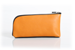 Time Travel Apple Watch Case—backside, camel leather