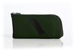Time Travel Apple Watch Case—forest green leather
