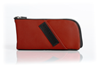 Time Travel Apple Watch Case—red leather